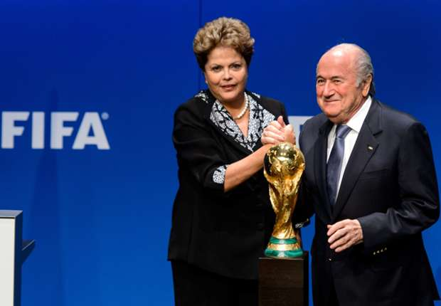 Blatter: Brazil will organise a beautiful World Cup