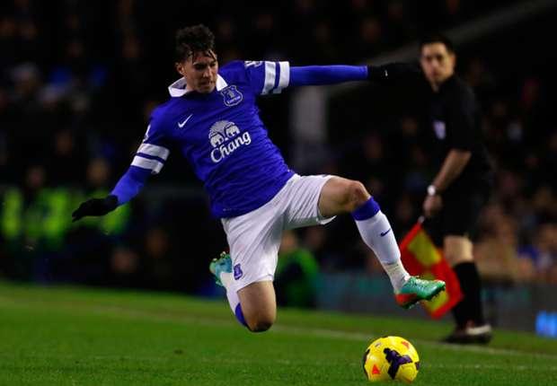 Everton midfielder Bryan Oviedo
