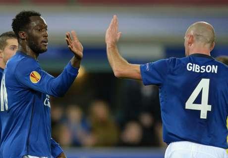 Everton 3-1 Young Boys (agg. 7-2): Lukaku brace
