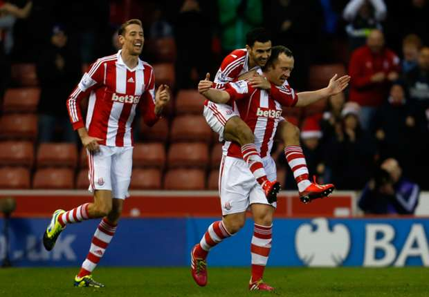 Stoke boss Hughes happy with Adam impact