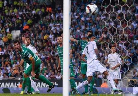 Cornella 1-4 Real Madrid: Holder coasts