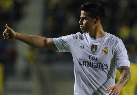 LIVE: James starts in Betis v Madrid