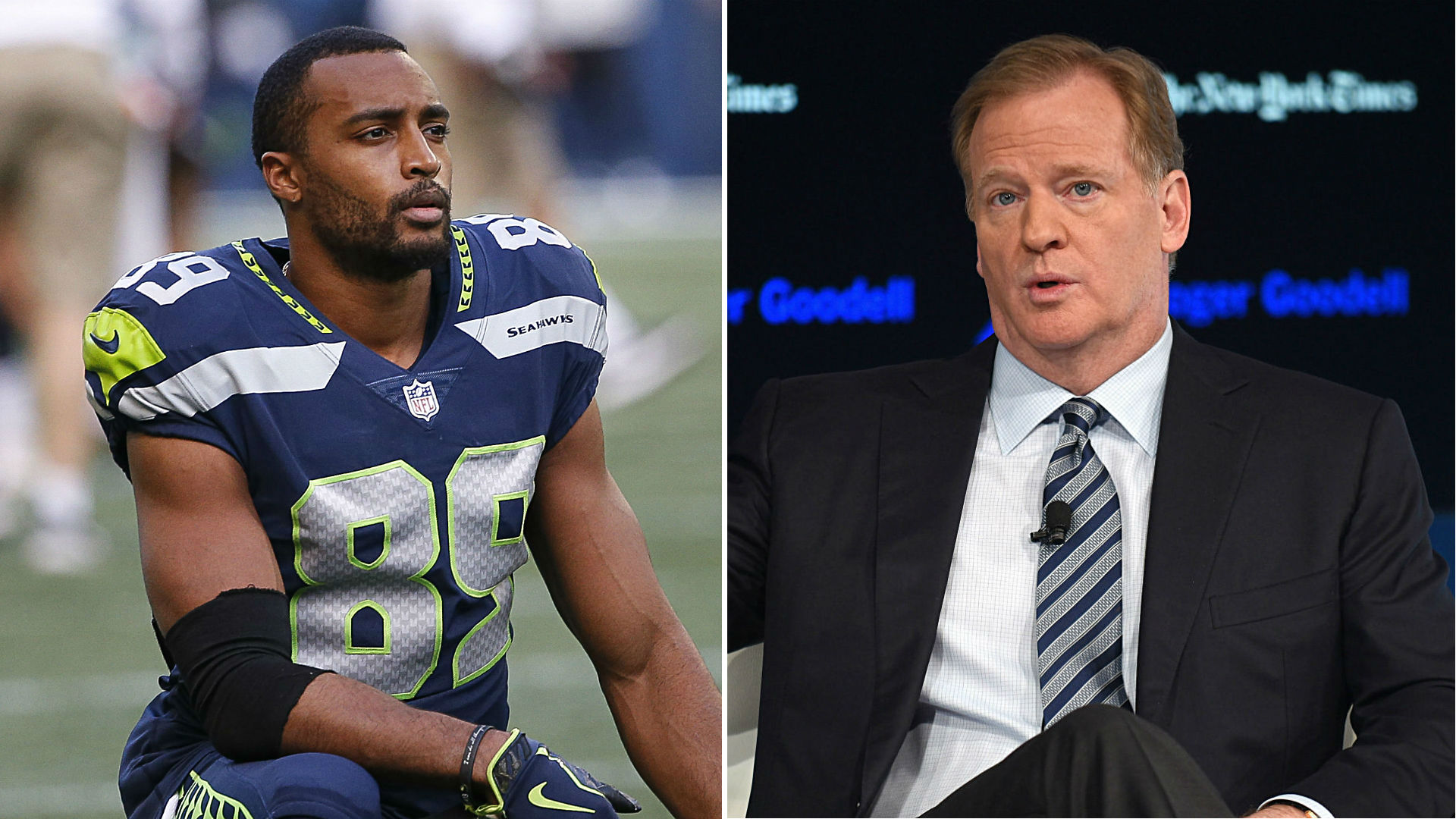 Seahawks receiver, National Football League commish tell Senate they support justice reform bill
