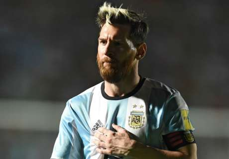 'Messi doesn't pick Argentina XI'
