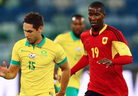 REPORT: South Africa 1-0 Angola
