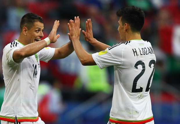 We're working our a**** off to win Confederations Cup, says Mexico star Javier Hernandez