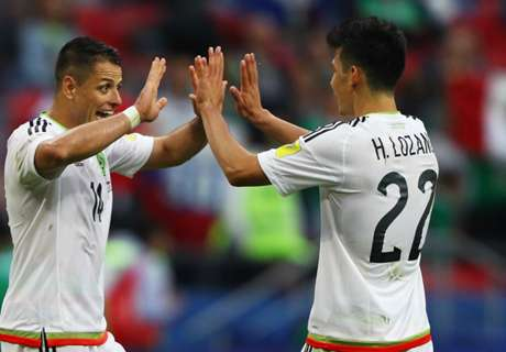 Chicharito: We work our a**** off