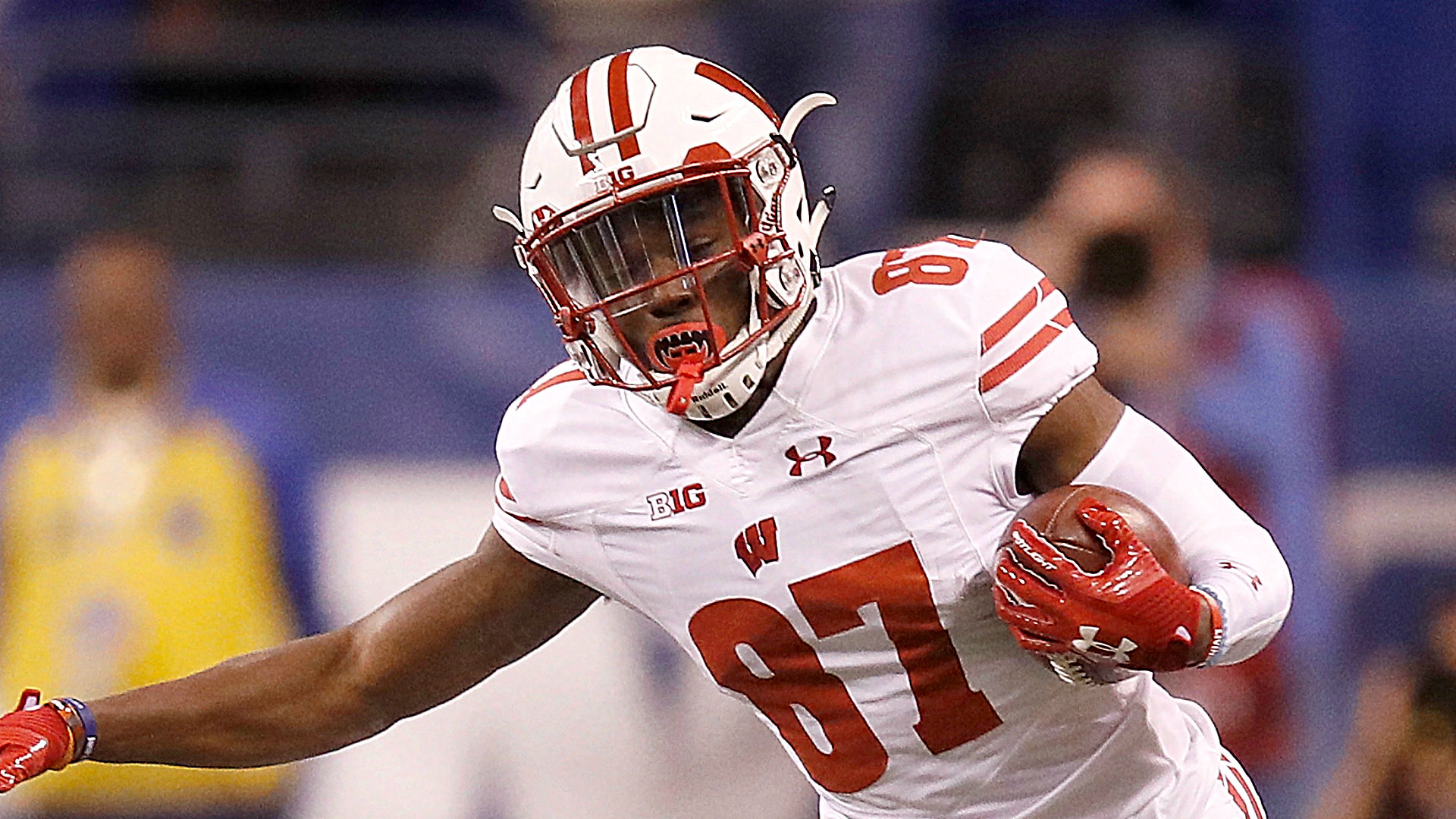 Wisconsin WR Cephus out for rest of season
