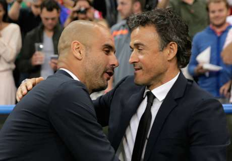 Luis Enrique: Critics are jealous of Pep