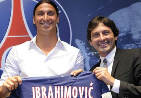 Zlatan and PSG entwined - Leonardo