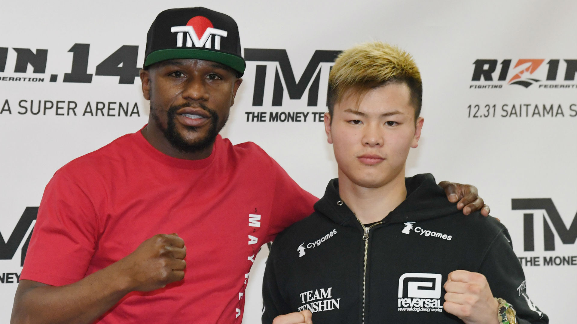 RIZIN 14: Mayweather Quickly Ends Exhibition Bout with Tenshin Nasukawa