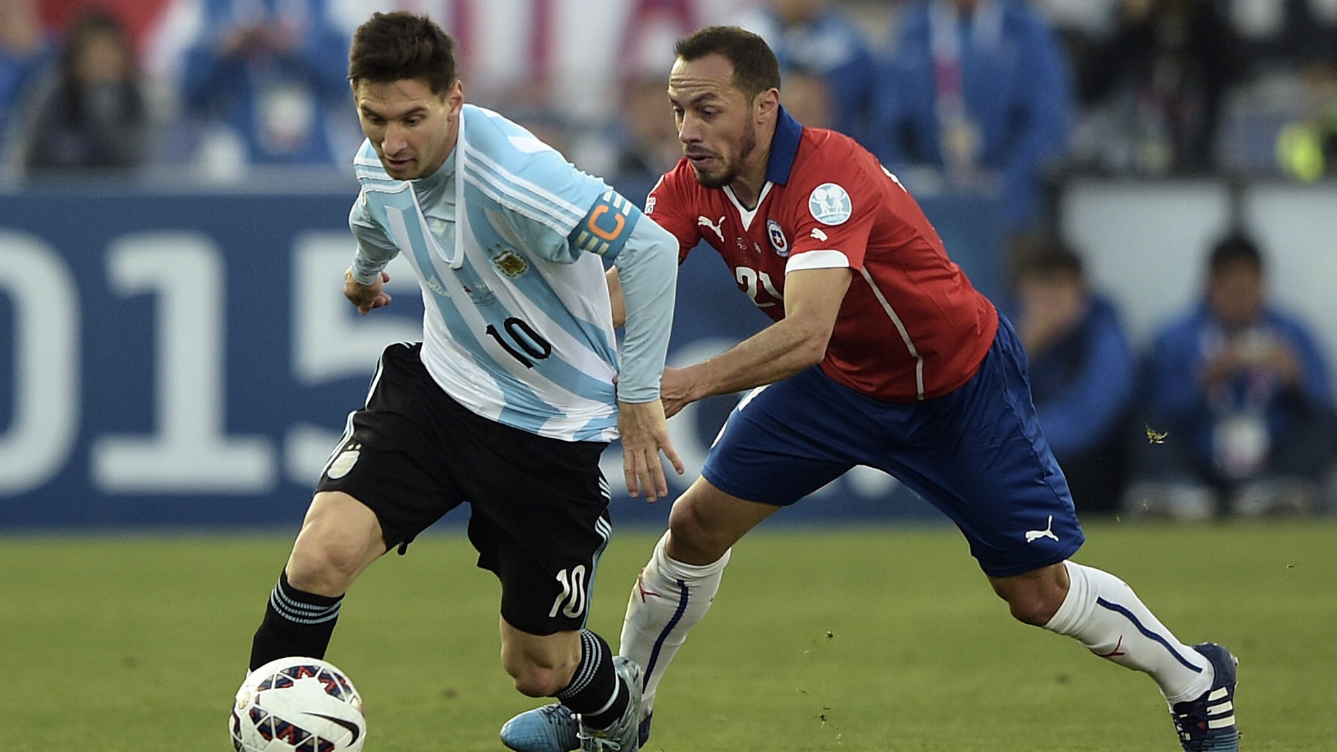 Chile beats Argentina on penalty kicks to win Copa America