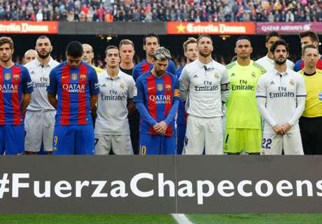 Chapecoense accept Barcelona invite