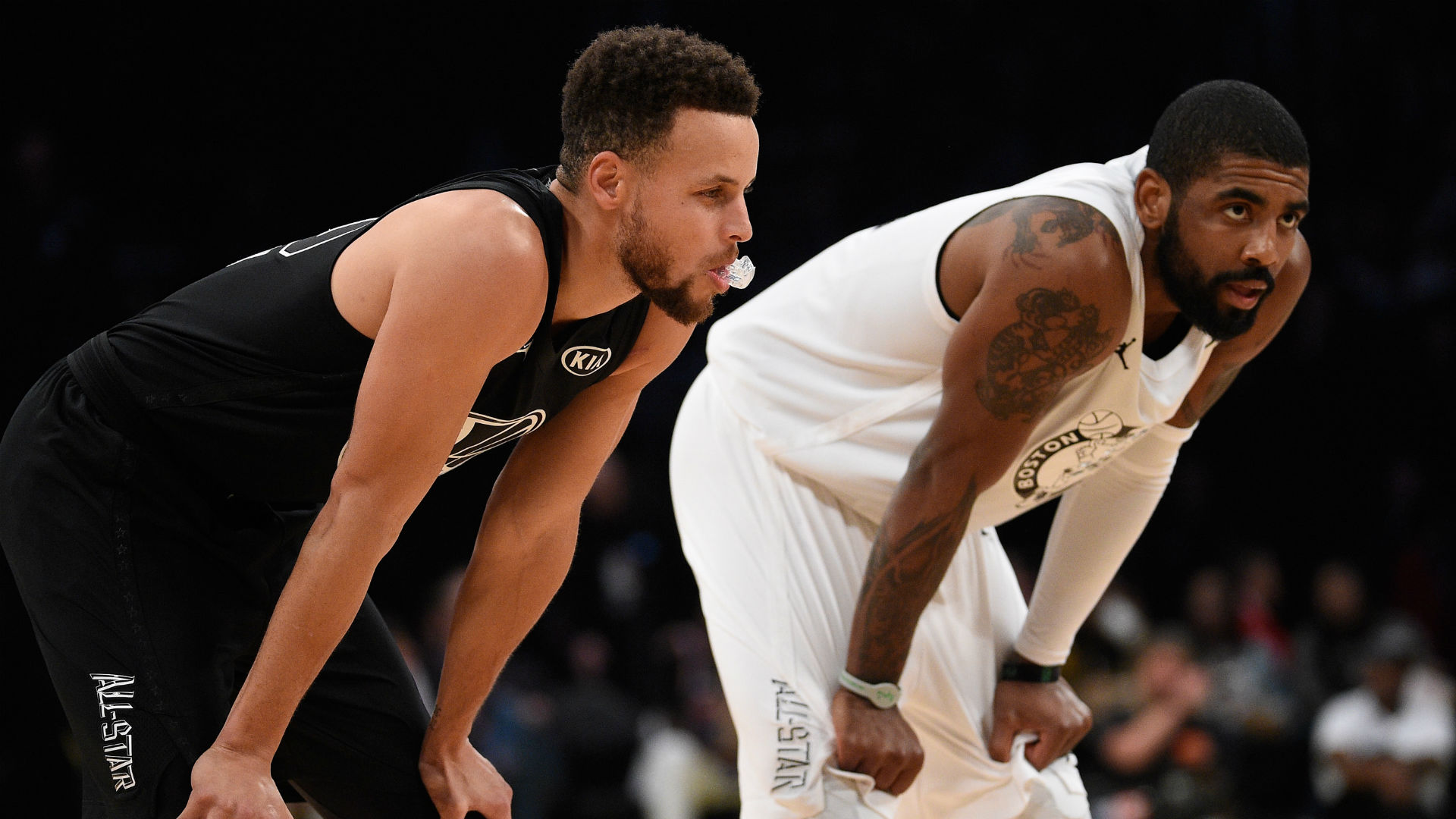 Kyrie Irving defends Stephen Curry's moon landing comments