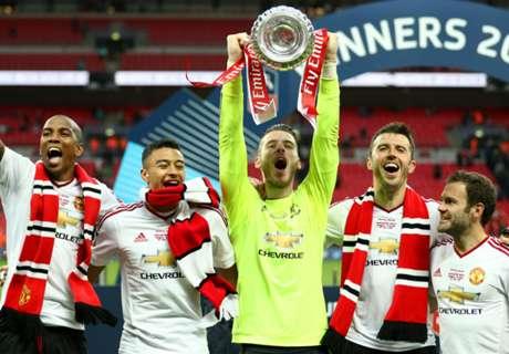 De Gea dedicates FA Cup win to fans