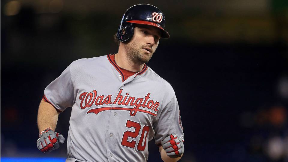 MLB trade rumors: Nationals sending Daniel Murphy to Cubs, Matt Adams to Cardinals