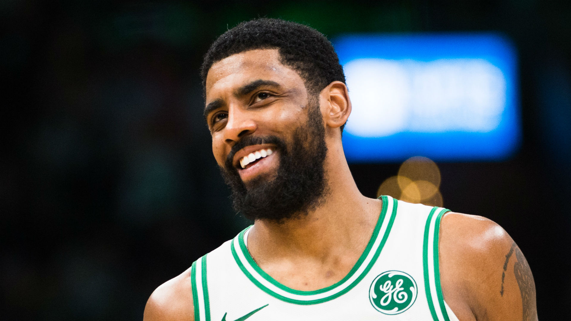 Why was Kyrie Irving carrying an atlas on Celtics' plane?