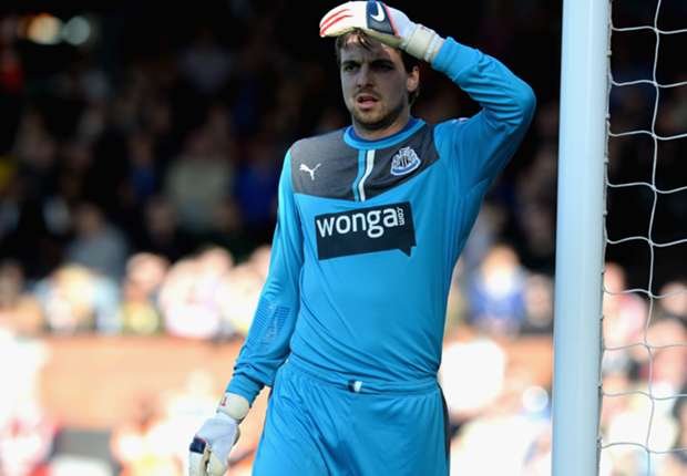Newcastle goalkeeper Krul out of Southampton clash