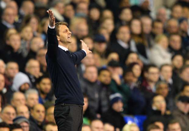 Sherwood enjoying the pressure at Tottenham