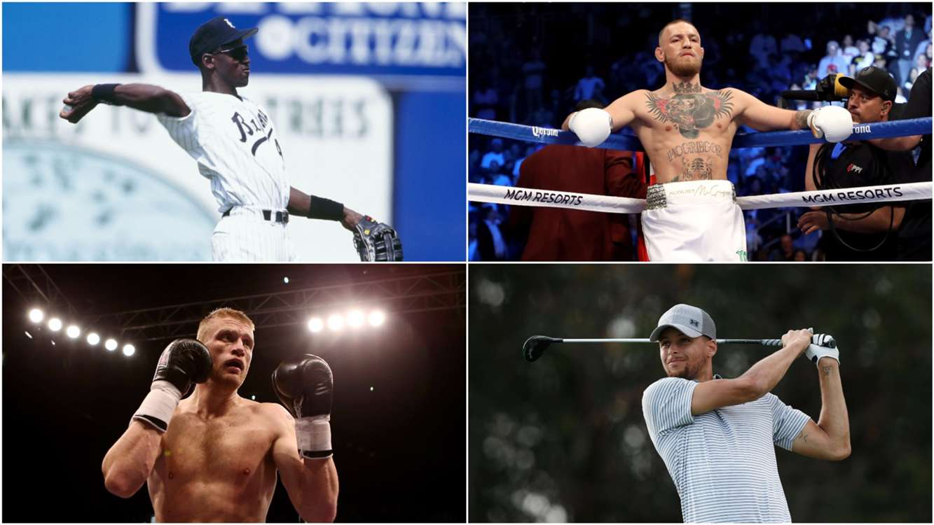 Ferdinand, McGregor and Curry - Sport's most notable crossover stars
