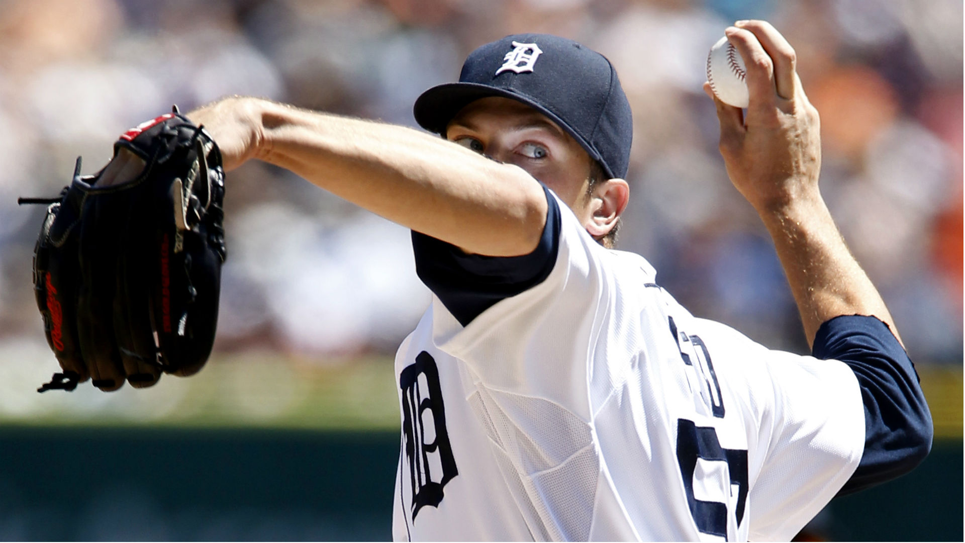 Former Tigers pitcher Evan Reed