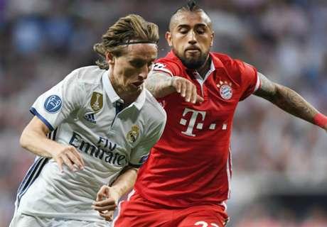 Modric hits back at Bayern