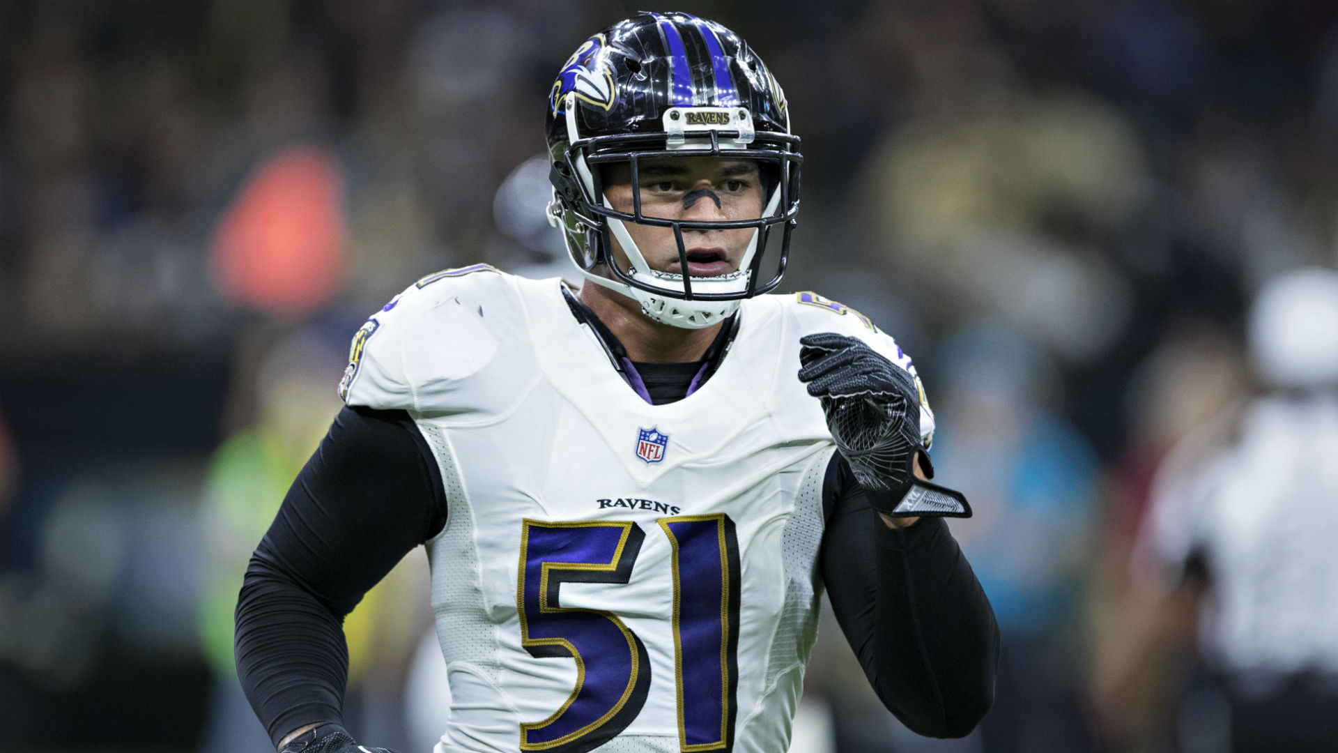 Titans agree to trade with Ravens, acquire LB Kamalei Correa