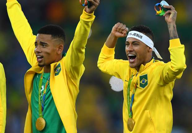 Jesus hails Neymar's Olympic influence: 'He treated everybody like his brother'