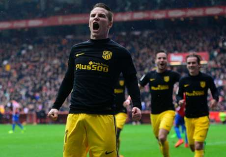 Simeone salutes hat-trick hero Gameiro
