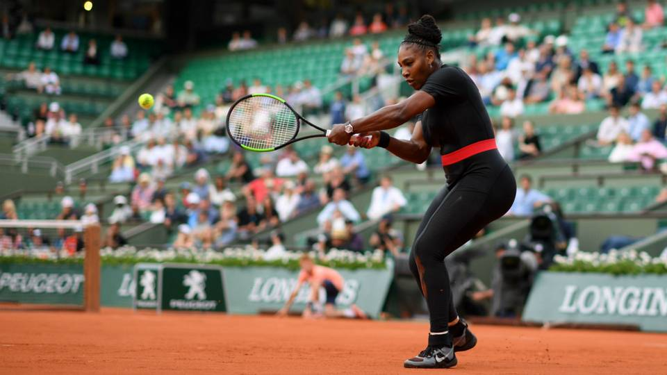 Serena Williams no longer allowed to wear  catsuit  at French Open · TENNIS fdc39fb3b