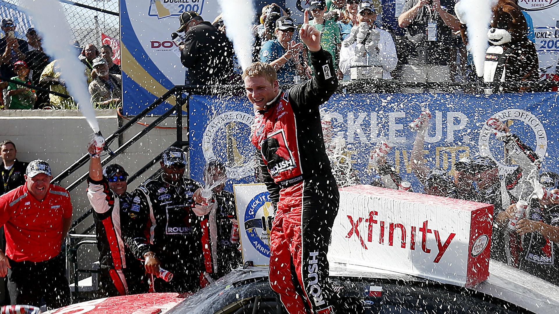 Xfinity Series Dover results: Chris Buescher wins; teammate upset