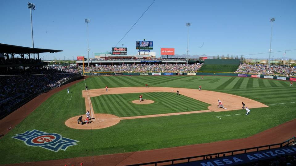 Sloan Park, spring home of the Cubs