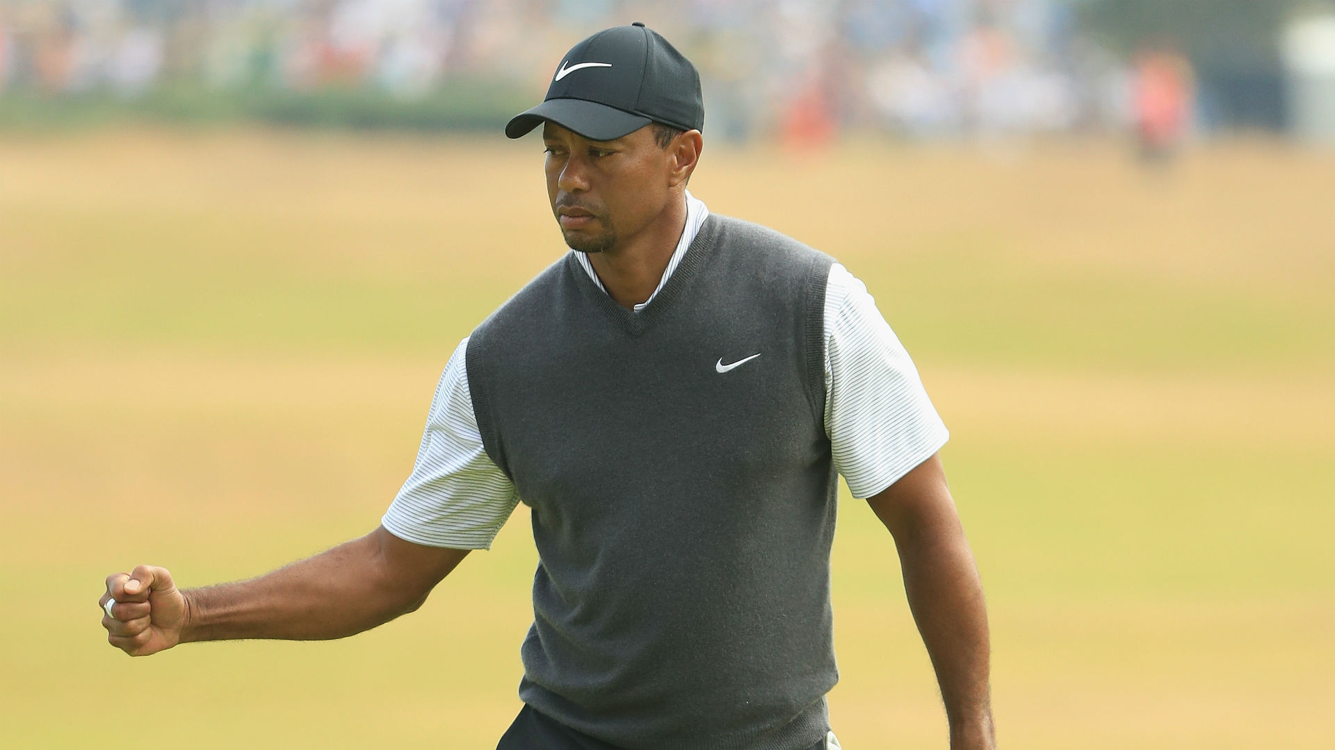 british open 2018  put on the sunday red and enjoy tiger u0026 39 s