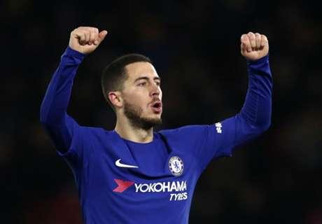 Why Chelsea shouldn't use Hazard as a false nine