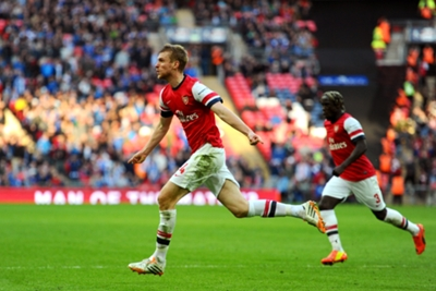 FA Cup: Wigan Athletic 1 Arsenal 1 (aet, 2-4 pens)