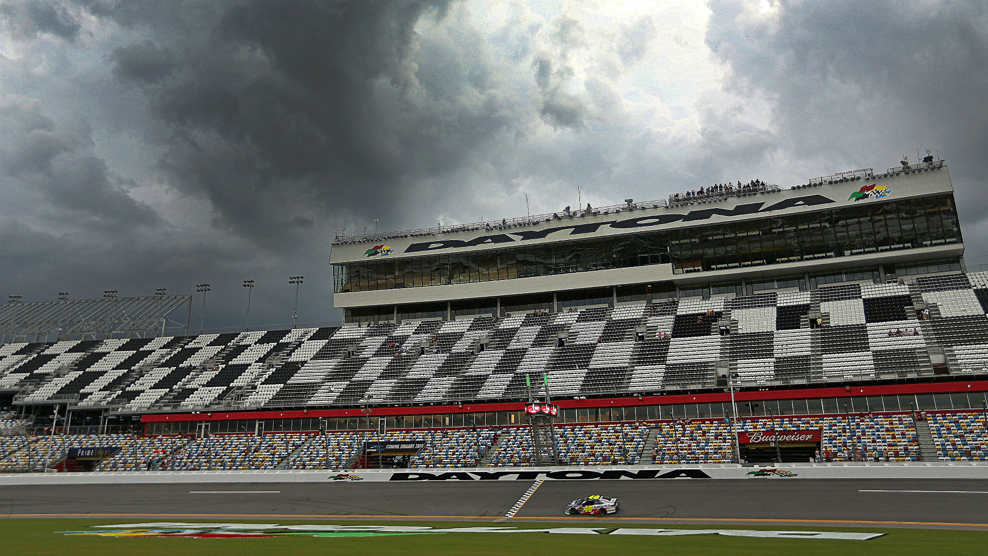 Rain possible at Daytona this weekend