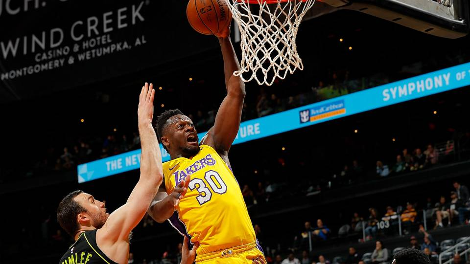 NBA free agency rumors  Former Lakers forward Julius Randle signing with  Pelicans 91e6ae262