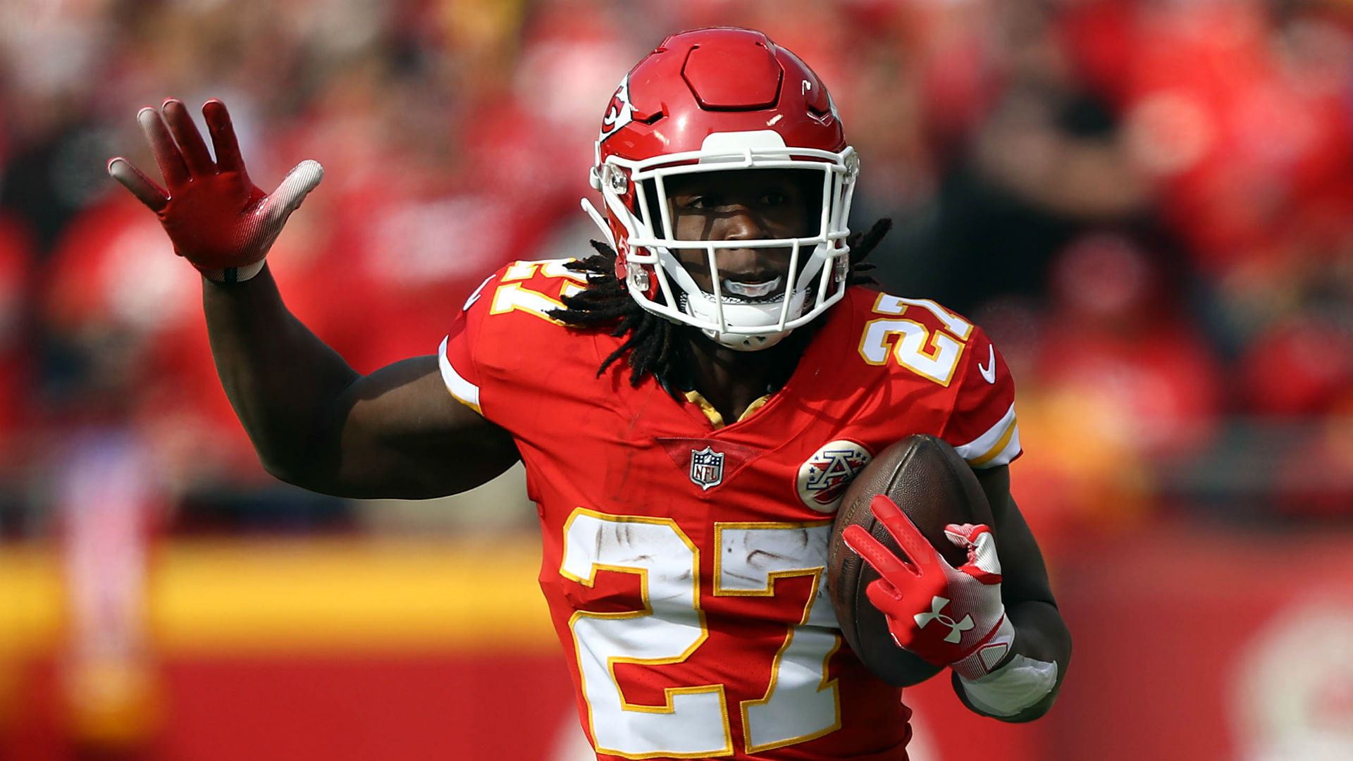 Ex-KC RB Hunt admits to lying about hotel assault
