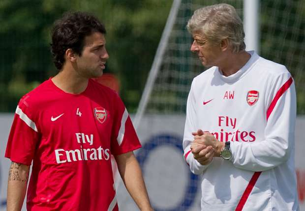 Fabregas: I owe nearly everything to Wenger