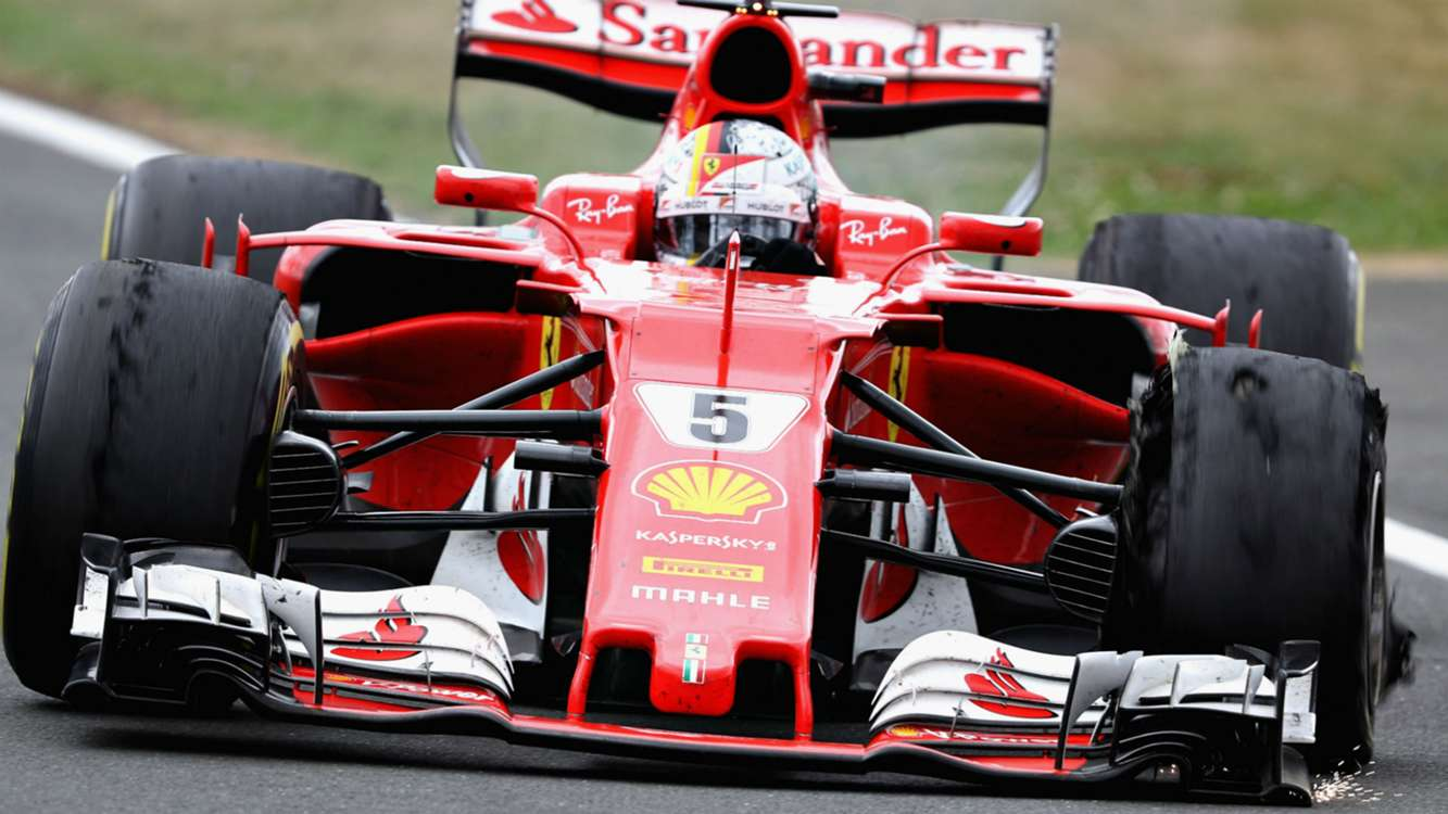 Vettel: Nobody to blame for Ferrari's British GP nightmare