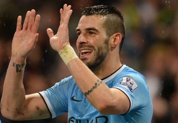 Manchester City striker Negredo rejected move to Moyes' Everton