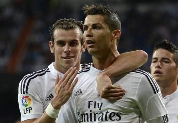 In Topform: Vierfach-Torschütze Cristiano Ronaldo