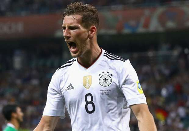 Leon Goretzka of Germany