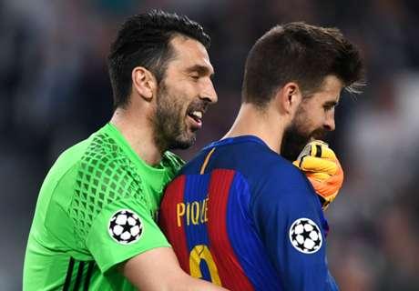 Pique: Buffon deserves Ballon d'Or