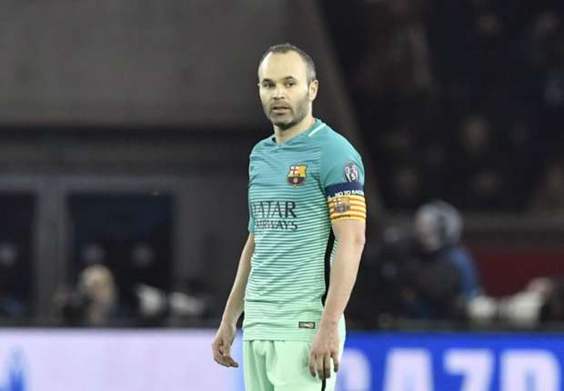 PSG loss nothing to do with Barcelona attitude, says captain Iniesta