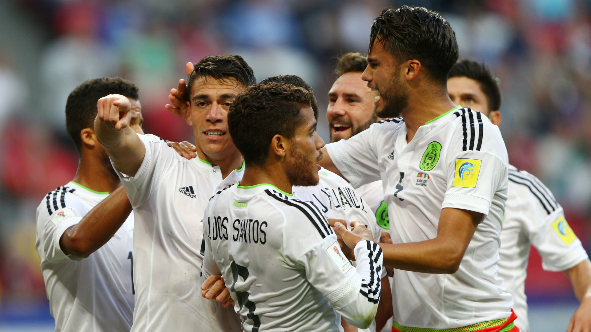 Confederations Cup: Mexico snatch late 2-2 draw against Portugal