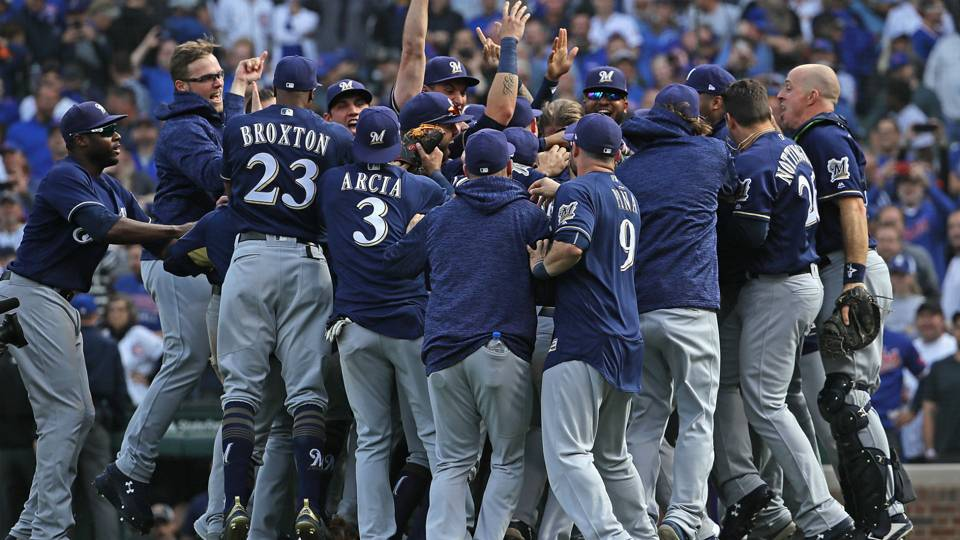 Three takeaways from the Brewers victory over the Cubs in ...