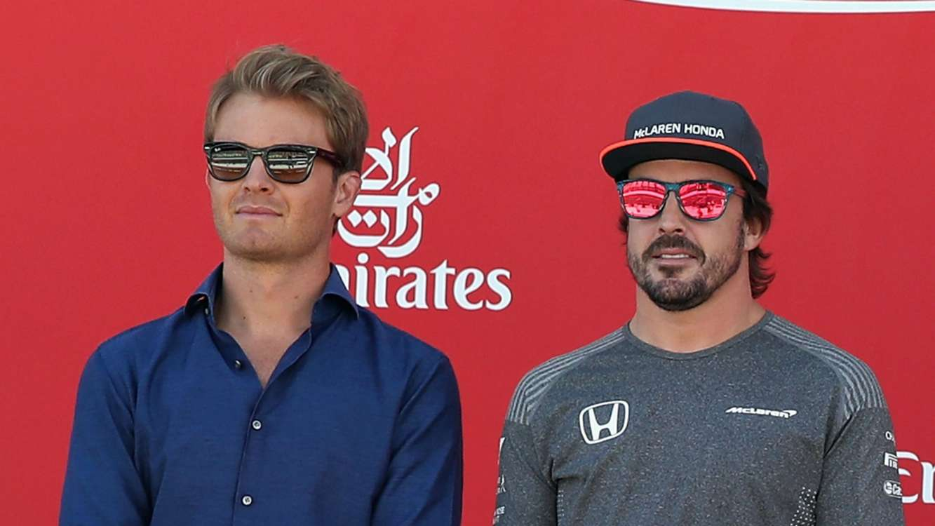Alonso hasn't had bad luck, he's chosen poorly - Rosberg