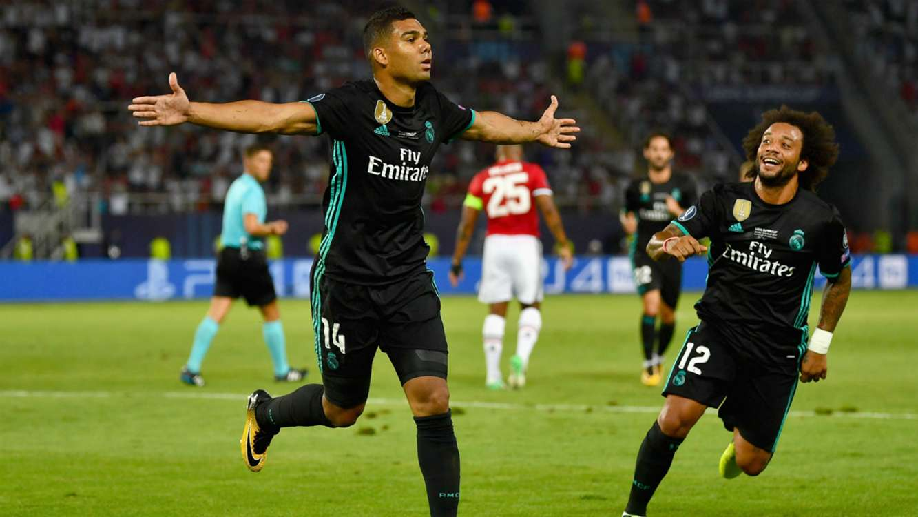 Real Madrid 2 Manchester United 1: Casemiro and Isco seal Super Cup triumph
