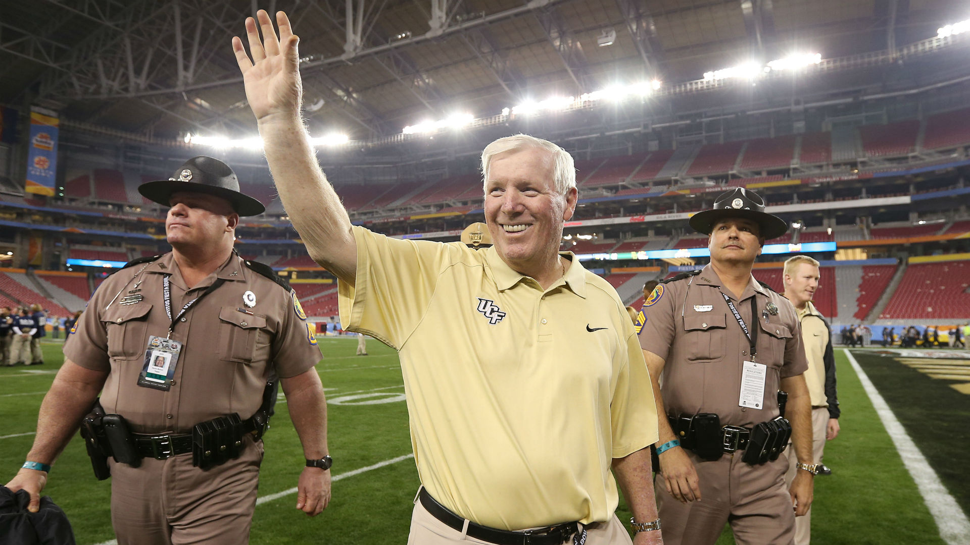 george o leary could step down as ucf coach after season report